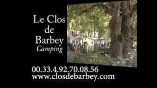 Camping nearby the Verdon Le Clos de Barbey in Bauduen, Provence