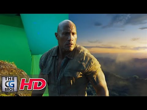 "CGI & VFX Breakdowns: ""Jumanji: Welcome to the Jungle VFX breakdown"" - by MPC"
