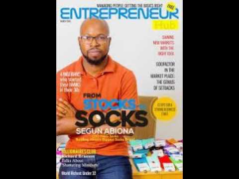 Ep. 7: How a Nigerian left London to start a Sock Company in his home country