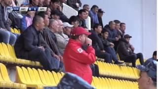 Дмитрий Васильев на матче «Актобе» — «Иртыш»