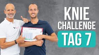 ❇️ Tag 7 ❇️FINALE! – 7-Tage Knie-Challenge (Knieschmerzen, Übungen)