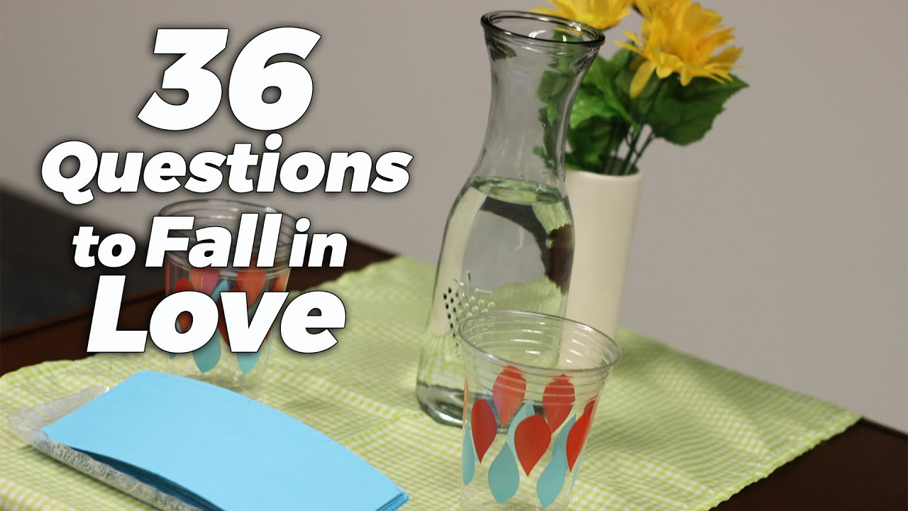 how to fall in love with anyone 36 questions