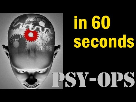 In 60 seconds - 12 PSYOPS