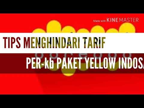 Tips menghindari tarif perkb paket yellow indosat ooredoo