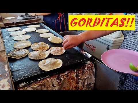 REAL MEXICAN STREET FOOD!!! GORDITAS!! an AMAZING breakfast!!