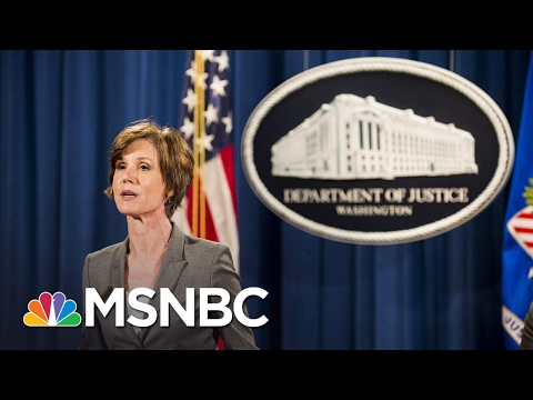 Joe On Firing Of AG Sally Yates: Using The Word 'Betrayed' Is Frightening | Morning Joe | MSNBC