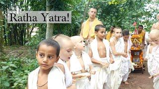 Ratha Yatra in Gurukula!