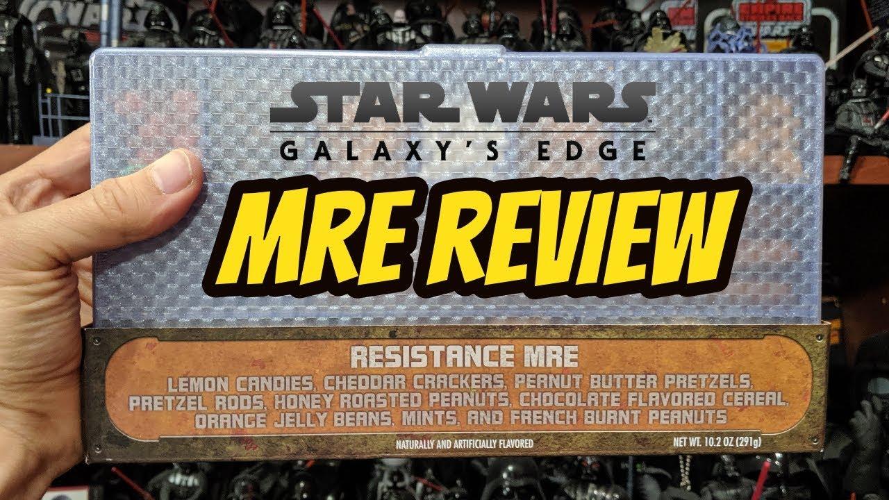 Download Star Wars Galaxy's Edge Merchandise: MRE Review Taste Test