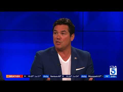 Actor Dean Cain s us the medal the President of Armenia gave him