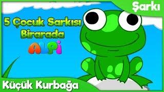 Küçük Kurbağa Kuvak Kuvak ve 4 Çocuk Şarkısı