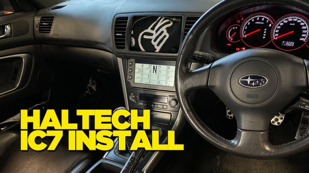 Haltech IC7 Dash Install into Supergramps