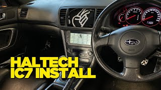Haltech IC7 Dash Install into Supergramps
