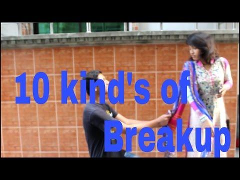 10 kind's of Breakup / funny video / Handy Tube