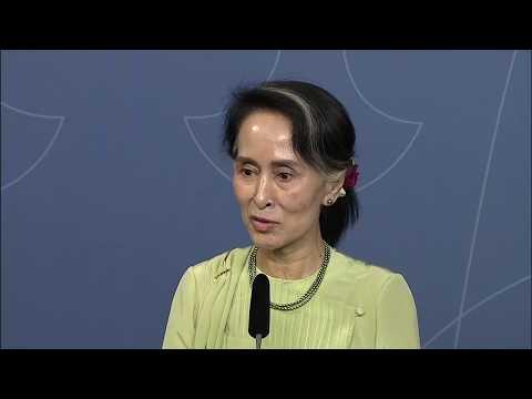 Statsminstern tar emot Aung San Suu Kyi i Stockholm