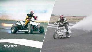 Quad & Trottinette Dragster (305 km/h) : Jean-François Boutonnet, l'inventeur fou de l'extrême !