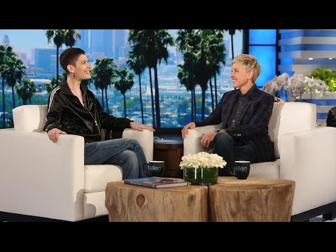 Ellen Meets Trailblazing Actor Asia Kate Dillon
