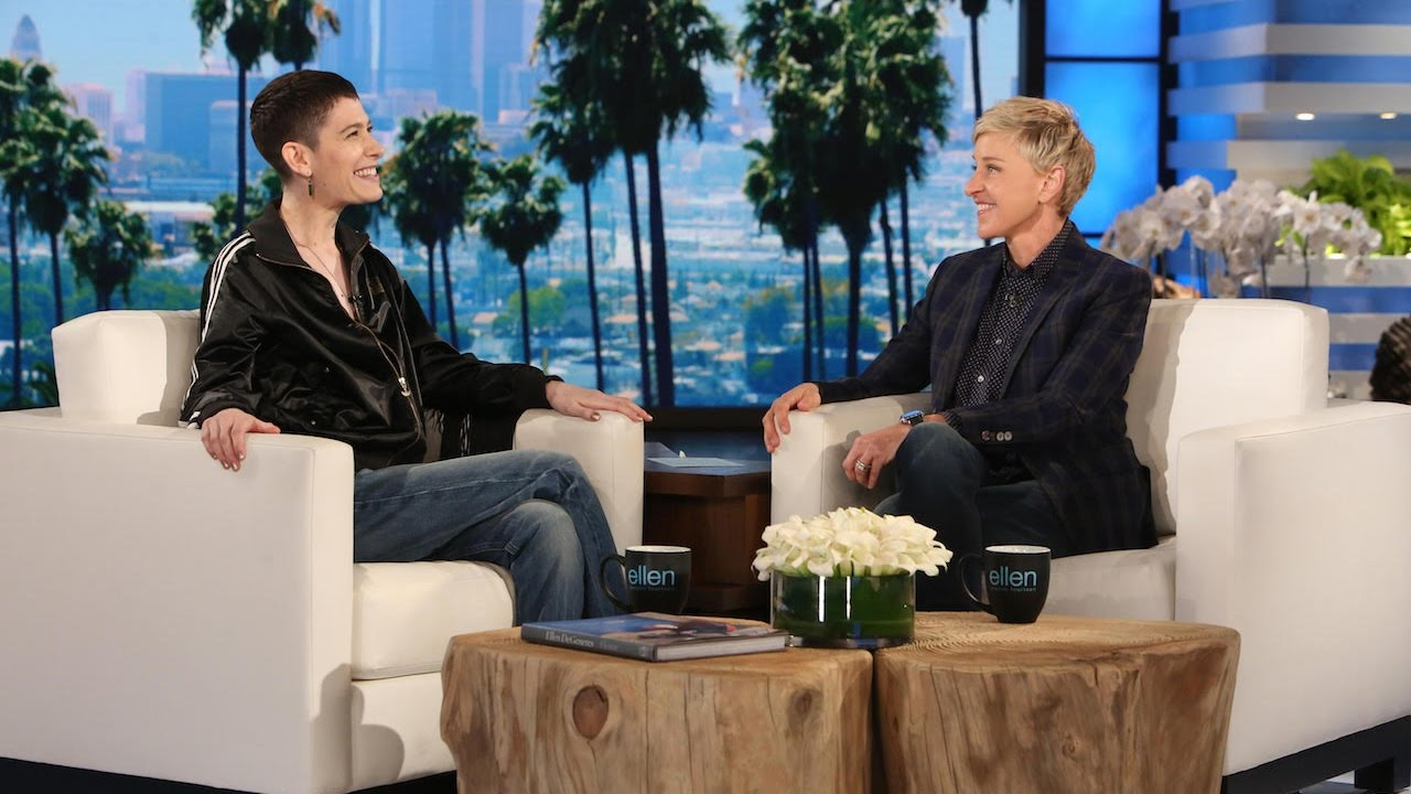 Ellen Meets Trailblazing Actor Asia Kate Dillon - YouTube