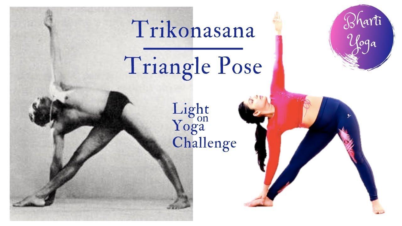 Triangle Pose Iyengar