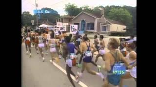 [신긔방긔~] 마라톤 이봉주 선수 역주 모습