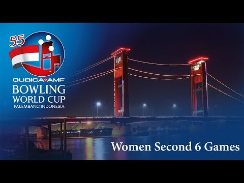 55th QubicaAMF Bowling World Cup - Women Second 6 Games