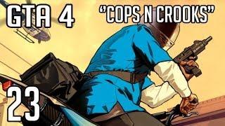 GTA 4 Cops n Crooks - 23 - Tjoek Tjoek gaat de trein