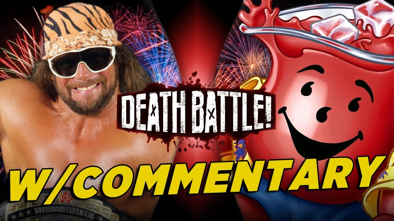 Macho Man vs Kool-Aid Man w/ Commentary