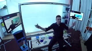Запись видеоуроков с доской для презентаций, создание видео курсов - новая технология