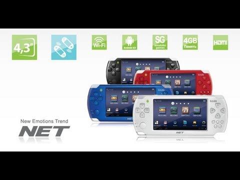 Exeq NET 2 - обзор игровой приставки - YouTube