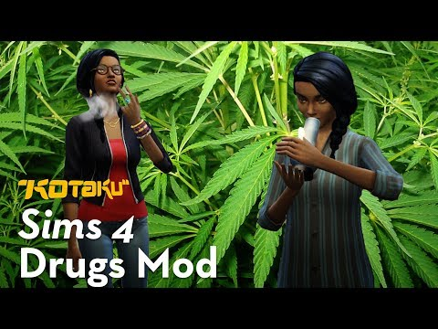 The Sims 4 Mod That Adds Drugs