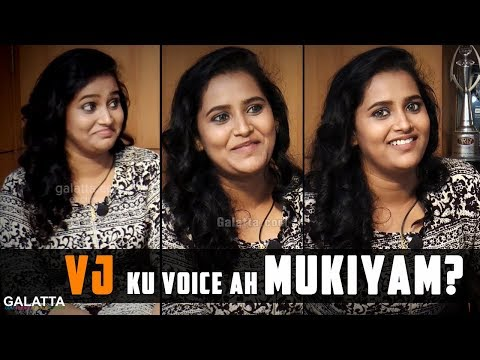 Sontha Kuralil Pada Romba Naala Aasai -  Fun Interview with VJ Jacquline