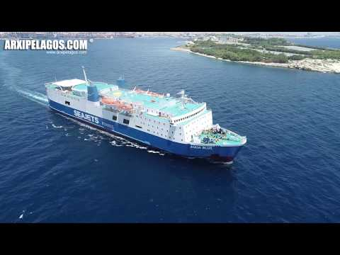 AQUA BLUE  Ro-Ro/Passenger Ship  MOMENTS OF TRIP