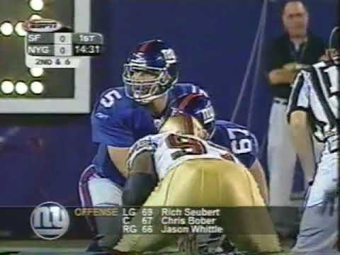 2002 49ers @ Giants Week 1