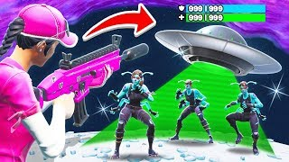 STOP The ALIEN INVASION *NEW* Game mode in Fortnite Battle Royale