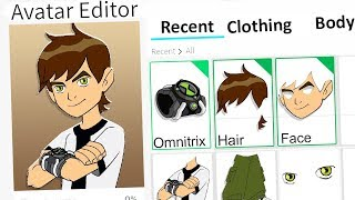MAKING BEN 10 A ROBLOX ACCOUNT!!