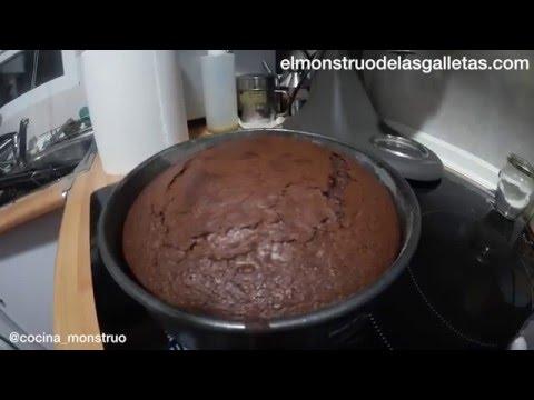 Vídeo: bizcocho de chocolate con las medidas de yogur