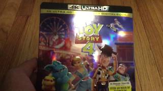 Toy Story 4 4K Ultra HD Blu-ray Unboxing