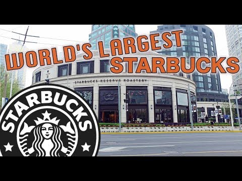 Best Starbucks In China (30,000sqf) + Best Shopping Street In Shanghai