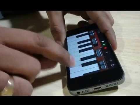 iPhone GarageBand App | Jeevan Ke Din | Instrumental cover by Ramalingam