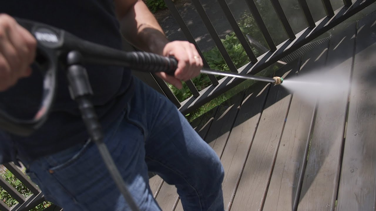 How To Safely Pressure Wash Your Deck Consumer Reports