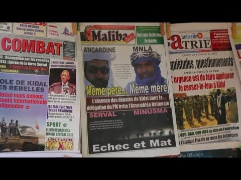 Malians react after army's humiliating defeat by rebels