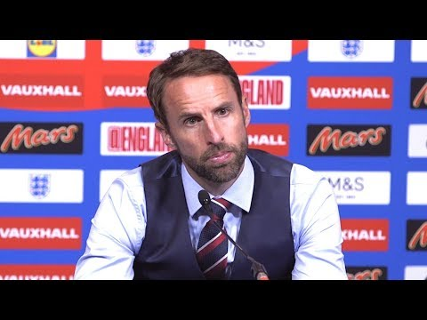 England 2-1 Nigeria - Gareth Southgate Post Match Press Conference -Happy With World Cup Warm-Up Win