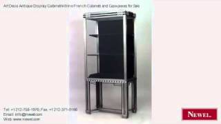 Art Deco Antique Display Cabinet/vitrine French Cabinets