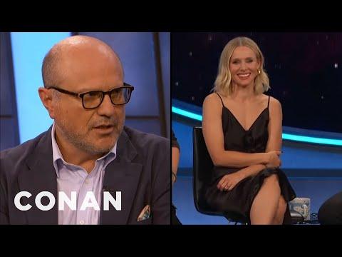 "Enrico Colantoni & Kristen Bell Can&39;t Swear On ""Veronica Mars"" - CONAN on TBS"