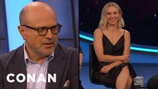 "Enrico Colantoni & Kristen Bell Can't Swear On ""Veronica Mars"" - CONAN on TBS"