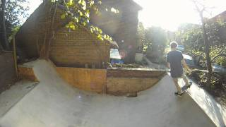 My Homemade Concrete Mini Ramp