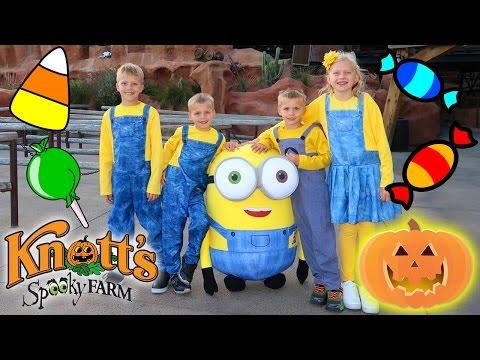 Halloween Fun at Knott's Spooky Farm Knott's Berry Farm