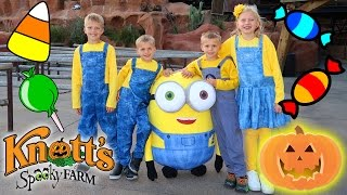 Repeat youtube video Halloween Fun at Knott's Spooky Farm Knott's Berry Farm