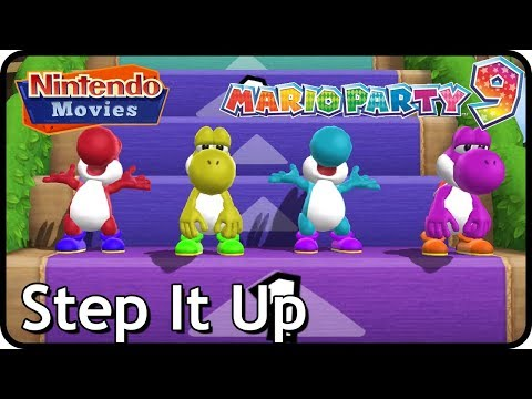 Mario Party 9 (Yoshi Party) - Step It Up (7 Rounds, Multiplayer, Free for All)