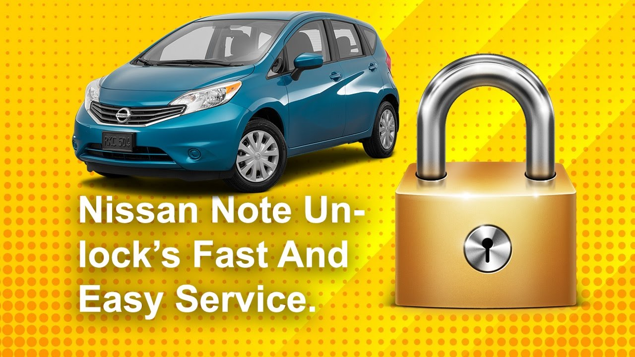 How To Find Your Nissan Note Radio Code Using Serial To Unlock Youtube