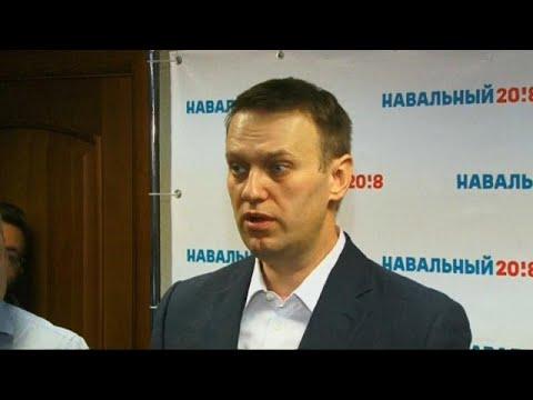 Alexeï Navalny bloqué en Russie